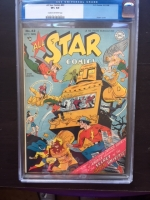 All-Star Comics #43 CGC 8.5 cr/ow