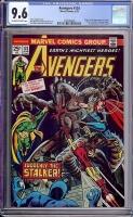 Avengers #124 CGC 9.6 ow/w