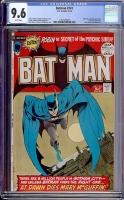 Batman #241 CGC 9.6 w