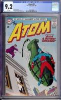 Atom #10 CGC 9.2 w