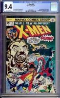 X-Men #94 CGC 9.4 ow