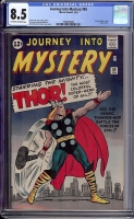 Journey Into Mystery #89 CGC 8.5 ow/w
