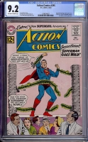 Action Comics #295 CGC 9.2 ow/w