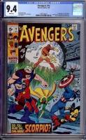 Avengers #72 CGC 9.4 w
