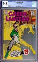 Green Lantern #63 CGC 9.6 w