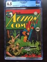 Action Comics #60 CGC 6.5 ow/w