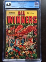All Winners Comics #11 CGC 6.0 cr/ow