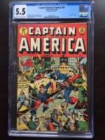 Captain America Comics #39 CGC 5.5 ow/w