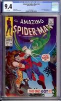 Amazing Spider-Man #49 CGC 9.4 w