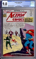 Action Comics #287 CGC 9.0 ow/w