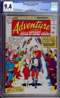 Adventure Comics #337 CGC 9.4 ow/w
