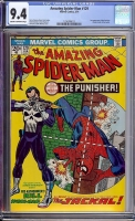 Amazing Spider-Man #129 CGC 9.4 cr/ow