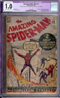 Amazing Spider-Man #1 CGC 1.0 cr/ow