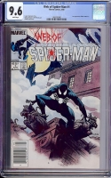 Web of Spider-Man #1 CGC 9.6 w