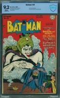 Batman #49 CBCS 9.2 w