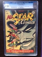 All Star Comics #34 CGC 7.5 ow/w