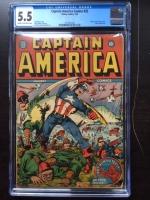 Captain America Comics #22 CGC 5.5 cr/ow
