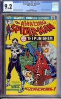 Amazing Spider-Man #129 CGC 9.2 cr/ow
