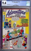 Adventure Comics #356 CGC 9.4 ow/w
