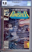 Punisher Limited Series #1 CGC 9.8 w