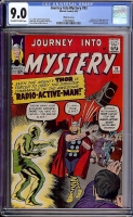 Journey Into Mystery #93 CGC 9.0 ow/w White Mountain
