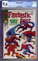 Fantastic Four #73 CGC 9.6 ow/w