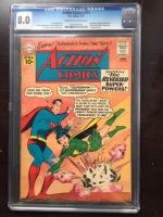 Action Comics #274 CGC 8.0 cr/ow