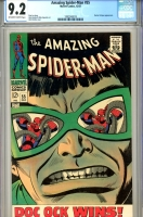 Amazing Spider-Man #55 CGC 9.2 ow/w