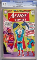 Action Comics #330 CGC 9.6 ow/w Boston