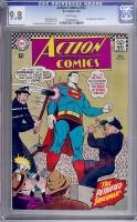 Action Comics #352 CGC 9.8 w