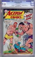 Action Comics #353 CGC 9.8 ow/w
