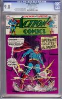 Action Comics #369 CGC 9.8 ow/w