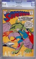 Superman #151 CGC 9.4 cr/ow
