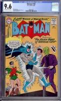 Batman #160 CGC 9.6 ow/w