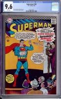 Superman #185 CGC 9.6 w