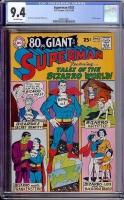 Superman #202 CGC 9.4 ow