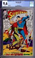 Superman #205 CGC 9.6 w