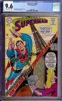 Superman #208 CGC 9.6 ow/w