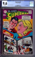 Superman #212 CGC 9.6 ow