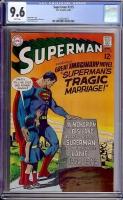 Superman #215 CGC 9.6 w