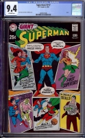 Superman #217 CGC 9.4 ow