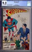 Superman #219 CGC 9.2 ow/w