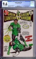 Green Lantern #87 CGC 9.6 ow/w
