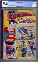 Superman #222 CGC 9.4 ow