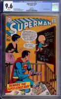 Superman #224 CGC 9.6 w Twin Cities