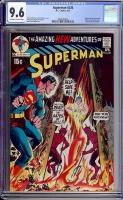 Superman #236 CGC 9.6 ow/w
