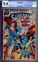 Superman #242 CGC 9.4 ow/w