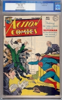 Action Comics #125 CGC 4.5 cr/ow Crowley Copy