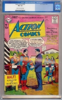 Action Comics #233 CGC 6.5 cr/ow