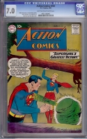 Action Comics #262 CGC 7.0 lt/ow